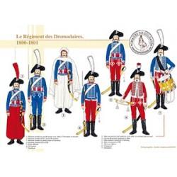 Le Régiment des Dromadaires en Egypte, 1800-1801