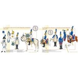 Les Dragons à Cheval de la Garde Impériale, les trompettes, 1806-1815