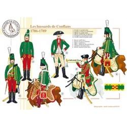 Les hussards de Conflans, 1786-1789