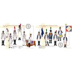 Le 33e Régiment d'Infanterie de Ligne, 1806-1812