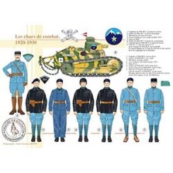 Les chars de combat, 1920-1930