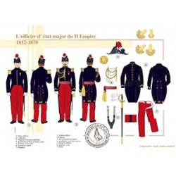 L'officier d'état-major du Second Empire, 1852-1870