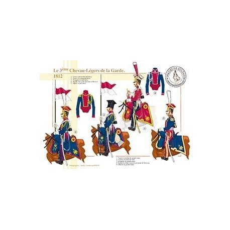 Le 3ème Chevau-Légers de la Garde, 1812