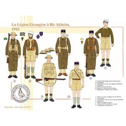 La Légion Etrangère à Bir Akheim, 1942