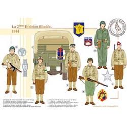 La 2ème Division Blindée, 1944