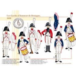 Les Gardes d'honneur de Bretagne, 1808