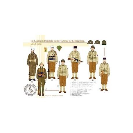 La Légion Etrangère dans l'Armée de Libération, 1942-1945