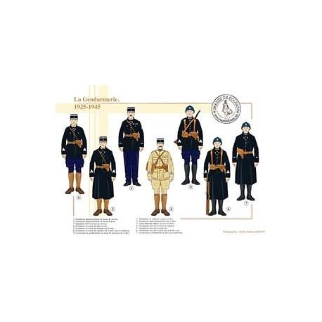 La Gendarmerie, 1925-1945