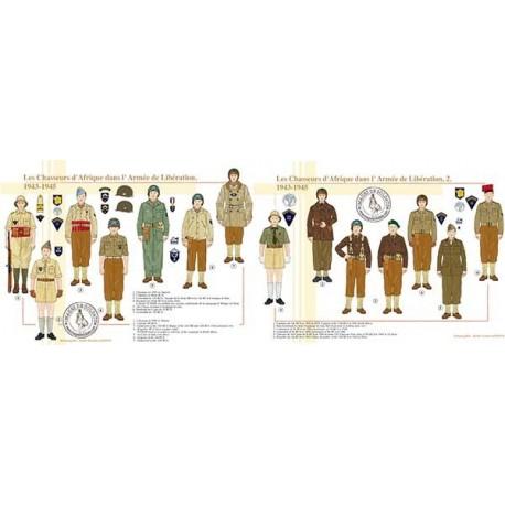 Les Chasseurs d'Afrique dans l'armée de Libération, 1943-1945