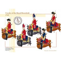 Cavalry of the Royal Household, 1742