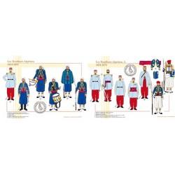 Les Tirailleurs Algériens, 1854-1870