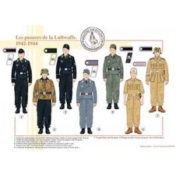 Les panzers de la Luftwaffe, 1942-1944