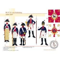 IR n°11 von Schôning, 1800-1807