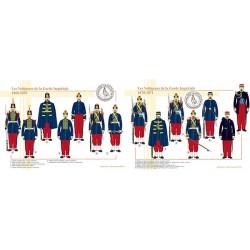 Les Voltigeurs de la Garde Impériale, 1860-1871