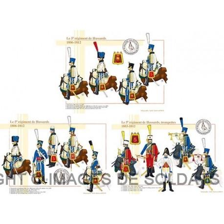 Le 5ème régiment de Hussards, 1803-1812