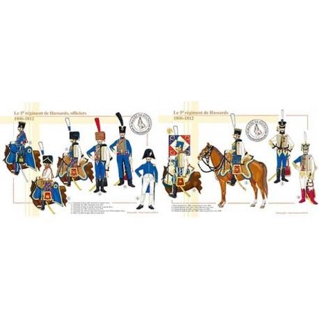Le 5ème régiment de Hussards, officiers et colonels, 1806-1812
