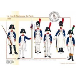La Garde Nationale de Paris, 1814