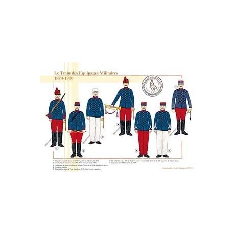 Le Train des Equipages Militaires, 1874-1900