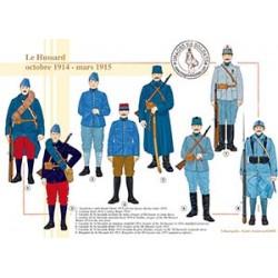 Le Hussard, octobre 1914 - mars 1915