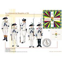 Le régiment du Dauphin n°30, 1786