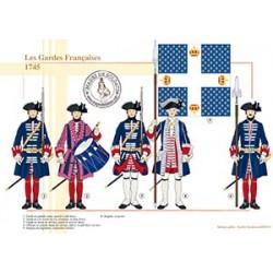 Les Gardes Françaises, 1745