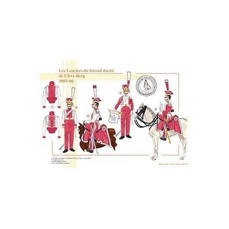 Les Lanciers du Grand Duché de Clève-Berg, 1807-1808