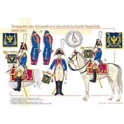 Trompettes des Grenadiers à cheval de la Garde Impériale, 1804-1815
