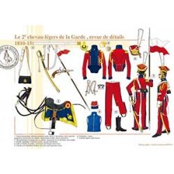 Le 2ème chevau-légers de la Garde, revue de détails, 1810-1815