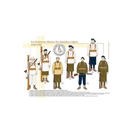Les Eclaireurs Skieurs des Bataillons Alpins, 1944-1945
