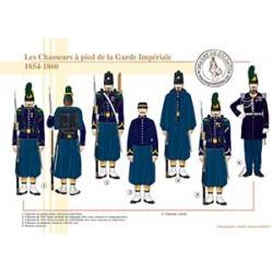 Les Chasseurs à pied de la Garde Impériale, 1854-1860