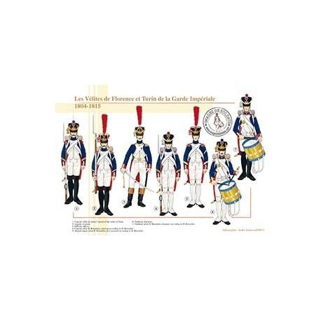 Les vélites de Florence et Turin de la Garde Impériale, 1804-1815