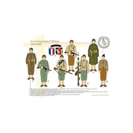 Les Commandos d'Afrique, 1943-1945