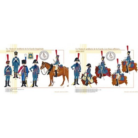 Le Train d'Artillerie de la Garde Impériale, 1804-1815