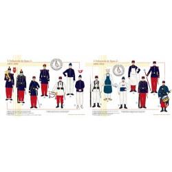 L'Infanterie de ligne, 1875-1914