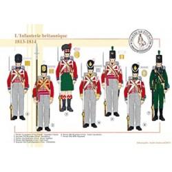 L'Infanterie britannique, 1813-1814