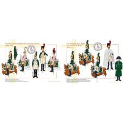 Les Dragons de la Reine du royaume d'Italie, 1804-1812