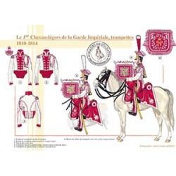 Le 1er Chevau-légers de la Garde, trompettes, 1810-1815