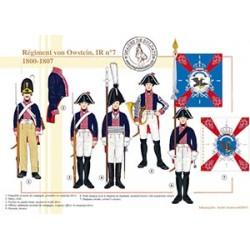 Régiment von Owstein, IR n°7, 1800-1807