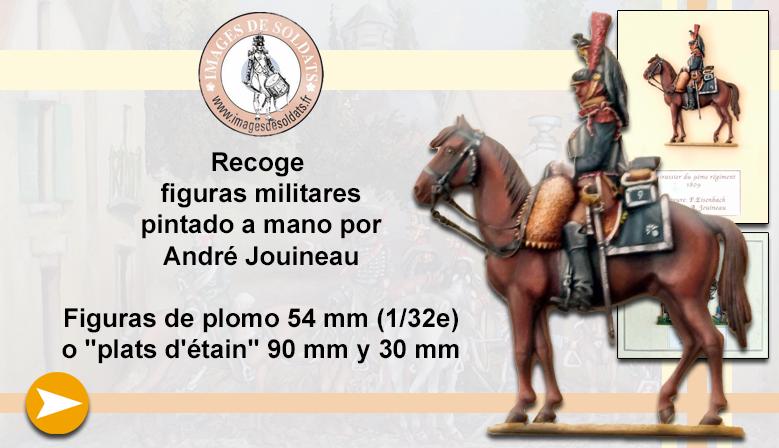 Figuras militares pintadas por André Jouineau