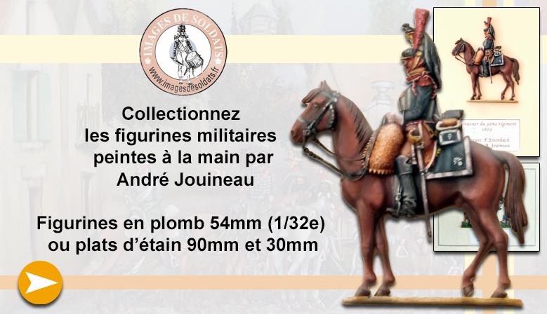 Les figurines militaires peintes par André Jouineau