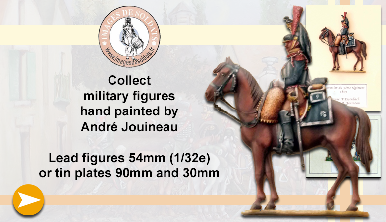 Military figures painted by André Jouineau