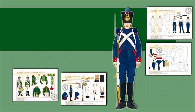 1812 regulaciones de la ropa