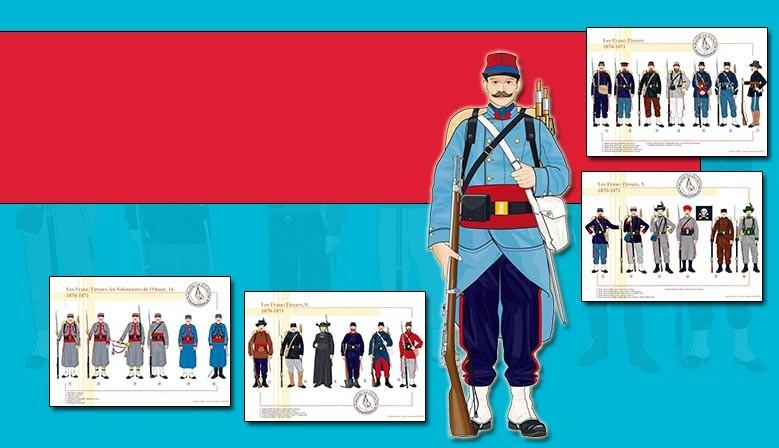 Franc-strzelców, 1870-1871