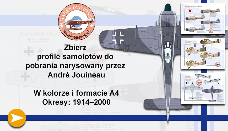 Profile samolotów wojskowych i cywilnych André Jouineau